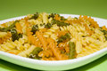 Pasta On Green Background Royalty Free Stock Image - 1752316