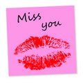 Miss You Royalty Free Stock Photos - 17507028