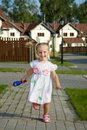 Running Girl Stock Image - 17515061