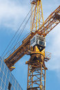 Top Of Tower Crane And Sky Stock Photo - 17528340