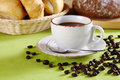 Coffee And Bread Royalty Free Stock Photography - 17546437