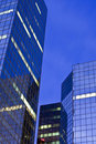 Modern Office Towers And Dawn Sky Stock Images - 17572794