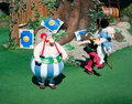 French-Park Asterix-Asterix, Obelix And Panoramix  Royalty Free Stock Photography - 17576837