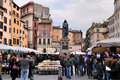 Market On Campo Di Fiori Stock Images - 17581784