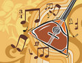Music Instrument Background Royalty Free Stock Images - 1760709