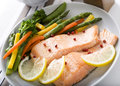 Salmon Fillet Royalty Free Stock Images - 17601989
