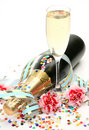 Wine And Flowers Stock Photos - 17609723