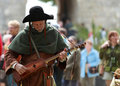 Medieval Troubadour Royalty Free Stock Images - 17632249