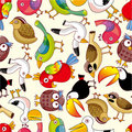 Seamless Bird Pattern Stock Photography - 17635022