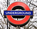 London Underground Sign Stock Image - 17639421