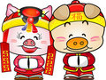 Chinese Pig New Year Royalty Free Stock Photo - 17650485