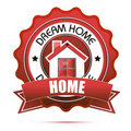 Dream Home Tag Royalty Free Stock Image - 17665536