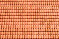 Pattern Of Red Roof Tiles Royalty Free Stock Image - 17670966