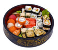 Rolled And Sushi Royalty Free Stock Photos - 17675818