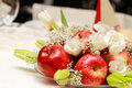 Plate Of Apples Royalty Free Stock Photography - 17682137