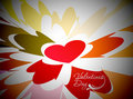 Valentines Day Heart Background Royalty Free Stock Photos - 17712518