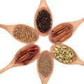 Six Spice Selection Royalty Free Stock Photo - 17714475