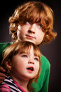 Brother And Sister Stock Photography - 17743012