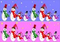 Snowman Banners Stock Photo - 17744660