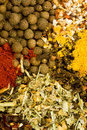 Assorted Dried Herbs And Spices Royalty Free Stock Photography - 17749657