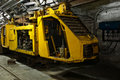 Underground Industrial Train In Mine Stock Photos - 17750083