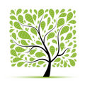 Art Tree Beautiful For Your Design Stock Photography - 17760782