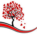 Valentines Tree Background,  Stock Images - 17776194
