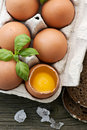 Eggs In Egg Box Stock Photography - 17793772