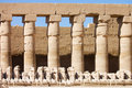 Statues In The Ancient Temple. Luxor. Egypt Stock Photography - 17805092