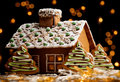 Gingerbread House Royalty Free Stock Photos - 17816778