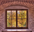 View From Old Window Royalty Free Stock Images - 17821099