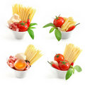 Italian Pasta Collection Royalty Free Stock Image - 17858136