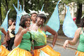 Two Girls Dressed Up For The Parade Stock Images - 17869694