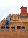 Thetching The Roof Royalty Free Stock Images - 17870209