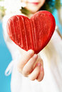 Wooden Heart Royalty Free Stock Images - 17889639