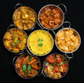 Indian Curry Dishes Stock Image - 17901001