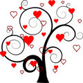 Valentines Tree Background,  Stock Photography - 17908272