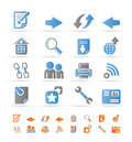 Website Navigation And Computer Icons Royalty Free Stock Photo - 17915875