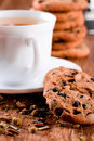 Cup Of Herbal Tea And Some Fresh Cookies Royalty Free Stock Images - 17932889