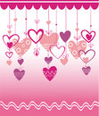 VALENTINES DAY BACKGROUND WITH HEART Royalty Free Stock Images - 17949139