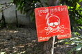 Land Mines In Cambodia Royalty Free Stock Images - 17955769