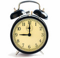 Nine O Clock Alarm Stock Photos - 17959383