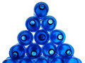 Blue Plastic Bottles Royalty Free Stock Images - 17981089