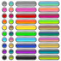 Glossy Web Buttons Stock Photos - 17987603