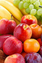 Variety Of Fruits With Drops Of Water Royalty Free Stock Images - 17990359
