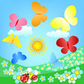Butterflies Roundelay Stock Photography - 17991712