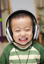 Kid With Headphone Stock Photo - 17998840