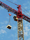 Construction Crane, Close Crop Royalty Free Stock Photography - 188347