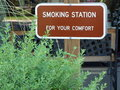 Smoking Area Sign Royalty Free Stock Images - 18013619