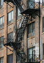Fire Stairwell Stock Image - 18030521